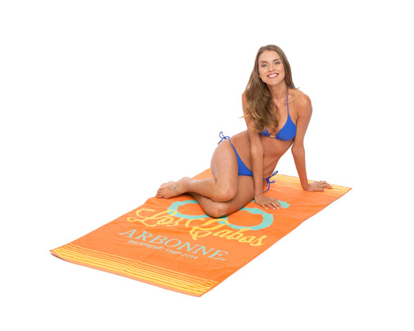 PT - 008 Oversize Jacquard Beach Towels