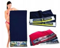 Pt - 022 Band Printed Beach Towels