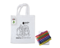 CJB021 - Childrens colouring shopper bag