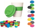 Coloured body coffee cup