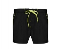 BS - 003 Contrasting black board shorts