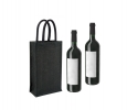 JJT011 Double Wine Jute Bag