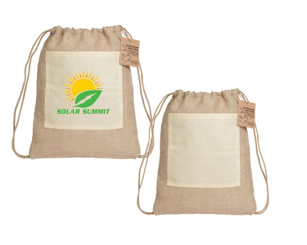 JJT003 The Drawstring Jute Bag