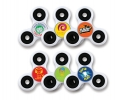KZ013 Full colour Centre Spinner Toy