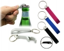 Flip top bottle opener key rings