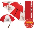 Full colour printed umbrellas