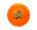 KZ018 Orange Printed Frisbees