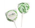 PL 011 Green Lollipop sticks