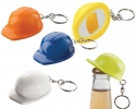 Hard Hat bottle opener key rings