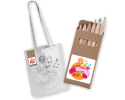 CJB022 - Childrens colouring bags with pencils