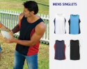 ASR - 016 Men's Sports Promotional Singlets
