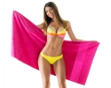 PT - 014 Pink Beach Towels