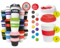 Best Selling promotional coffee cups printed