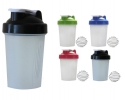 Protein shaker with mixing ball 400ml