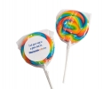 PL 008 Rainbow Candy Lollipop
