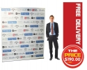 2 Meter Pull up Banner