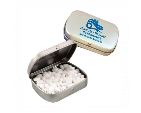 PM003 Promotional Mint Tins Silver