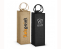 WIN - 016 Single Bottle wine carry bags with handl
