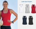 ASR - 018 Ladies Sports Singlets
