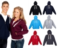 Zippered Hooded Tops